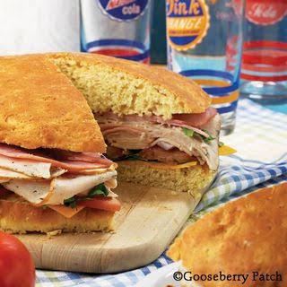 Giant Stuffed Sandwich.