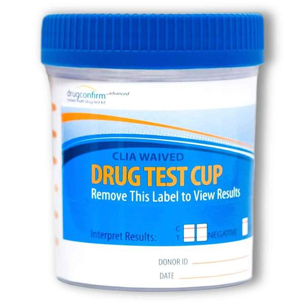 7 Panel DrugConfirm™ CLIA Urine Drug Test Cup-TestCountry