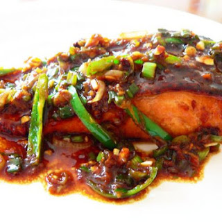 Salmon with Thai Chilli Sauce