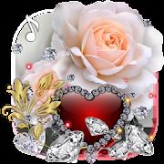 Diamonds Valentines Day live wallpaper