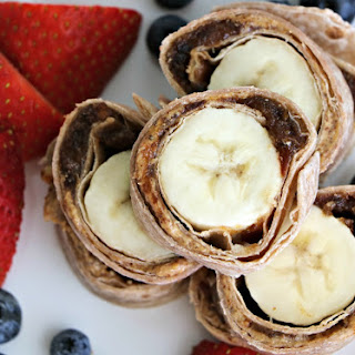 KISS Banana Date Nut Butter Rollups