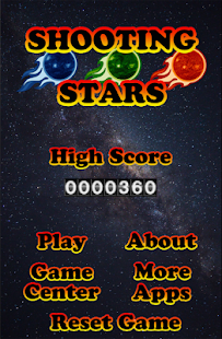Shooting Stars, Bubble Shooter - náhled
