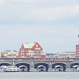 The Lackawanna Sign by Joatan Berbel - Buildings & Architecture Office Buildings & Hotels ( colorful, vista, architectural, transportation, old building )