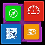 Smart Tools : QR code, Compass and GPS Speedometer