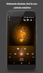Pi Reproductor de música - Music Player Screenshot