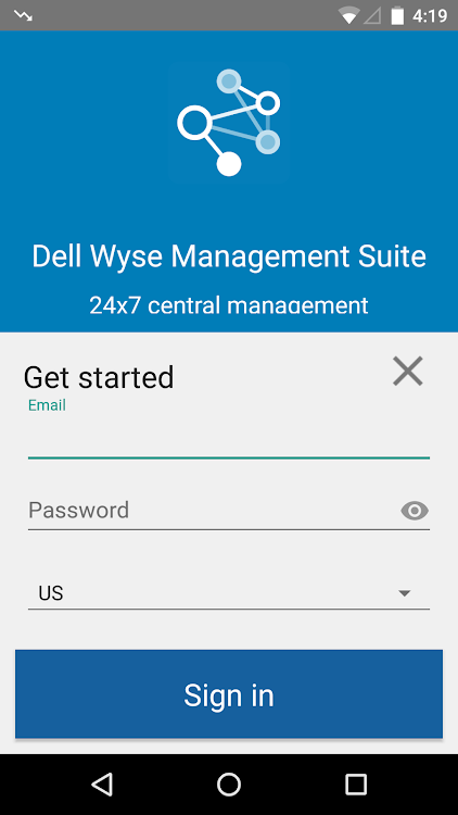 Dell Wyse Management Suite – (Android 應用程式) — AppAgg
