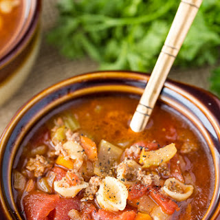 Hamburger Soup.