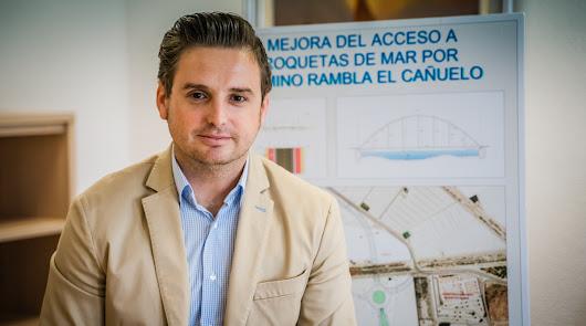 José Llamas, concejal de Medio Ambiente, Ordenación del Territorio y Patrimonio.