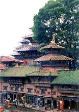 Photo: Katmandu - pałac królewski Hanuman Dhoka / The royal palace Hanuman Dhoka