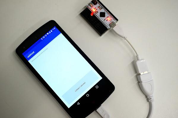 Arduino Android Usb Host Otg