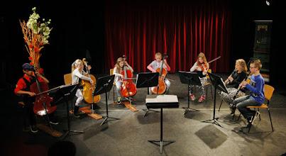 Photo: Voorzaans schoolorkest - derde prijswinnaar Jan Pasveerconcours 2015 - Ardito fotografie