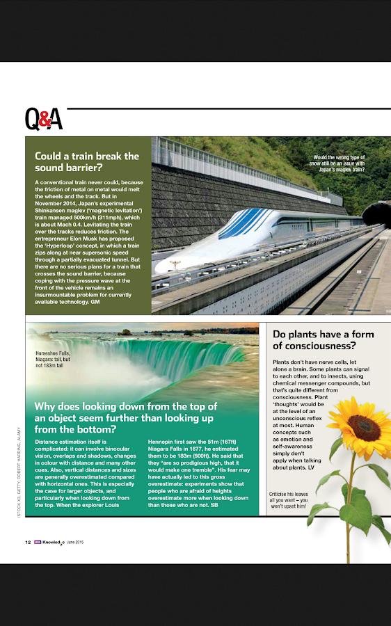 BBC Knowledge Magazine- screenshot