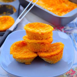 Oven Baked Cheesy Potato Cakes
