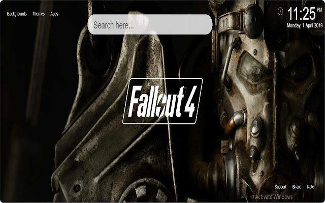 Fallout 4 Wallpaper HD New Tab