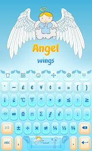 Angel ? Wings Keyboard - náhled