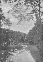 Photo: Allerhand Verkehr auf dem Teich (Quelle: Hagen, Reihe ,Monographien deutscher Städte', 1928, S. 30).