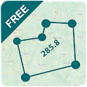 Area Calculator For Land Gps Measurement icon