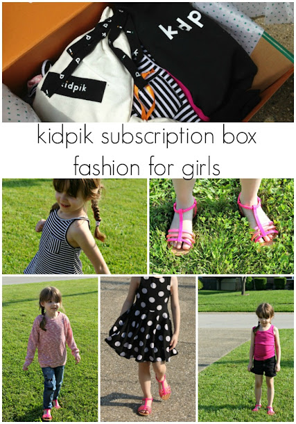 kidpik subscription box - fashion for girls!
