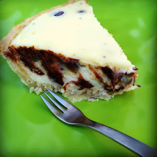 Chocolate Chip Cheesecake Pie
