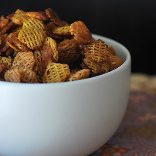 Microwave Chex Mix