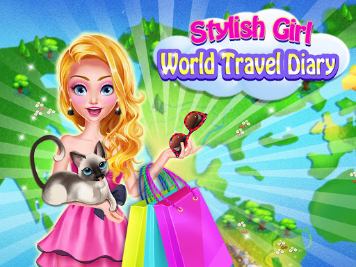 Super Fashion Girl: Travel The World u2764Girl Dressup 1.0 screenshots 1