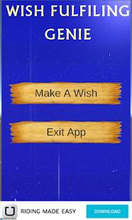 Make My Wish  Genie