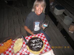 Photo: Sheila's birthday.