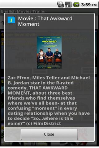 Скриншот Hollywood new movie trailers