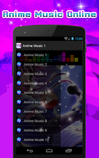 Anime Music Online- screenshot thumbnail