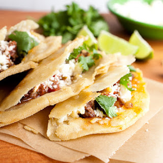 Fried Tacos with Beef and Cheese