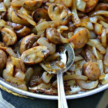 Sauteed Mushrooms and Onions
