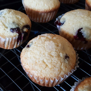Easy To Make Blueberry Muffins.