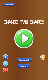 Change Two Shapes -shapes come - náhled