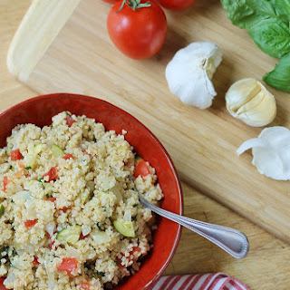 Italian Wheat Bulgur Salad.