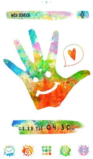 Holi Theme Colorful Hand 1.0.0 Windows u7528 1