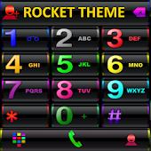 Theme RocketDial Black Colors
