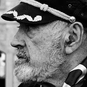 Old sailor by Mirjana  Bocina - People Portraits of Men (  )