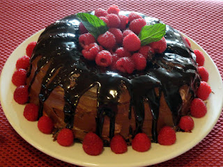 Chocolate Raspberry Mascarpone Cake Recipe