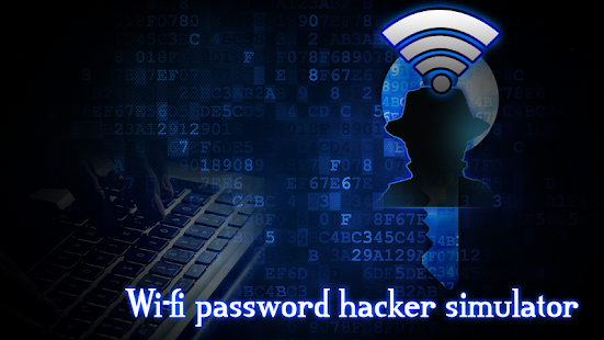 Wifi Password Hacker Simulated Screenshot