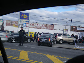 Photo: Meanwhile, out in Canarsie, here's one of those gas line