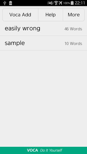 【免費教育App】VOCA DIY - Excel Upload-APP點子