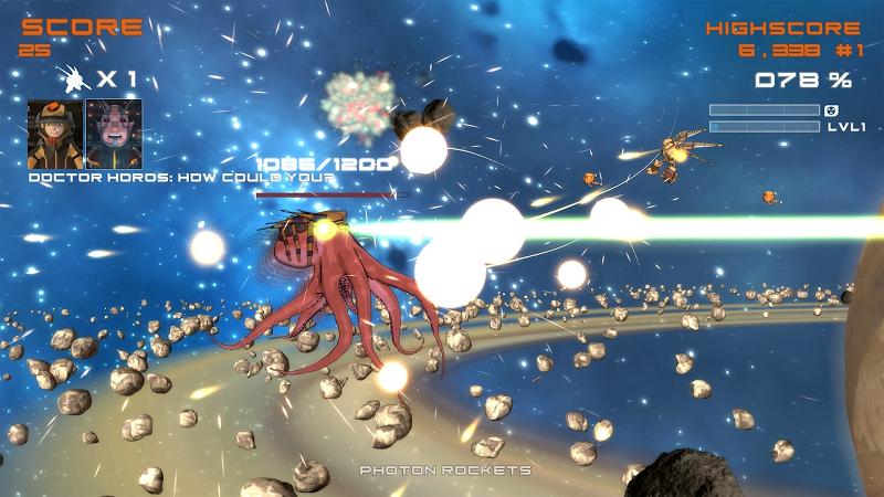 Quantum Revenge - Mecha Robot Space Shooter Screenshot 8