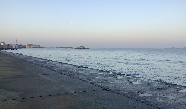 Propriété en bord de mer avec jardin Saint-Malo