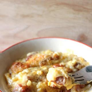 Scalloped Potato and Ham Casserole.