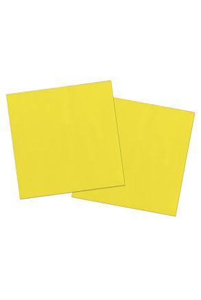 Servetter, gul, 20st