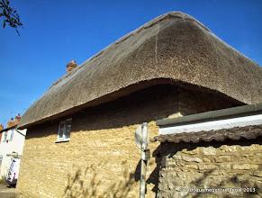 Photo: thatched corner
