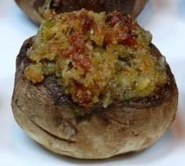 Italian-style Stuffed Mushrooms Recipe