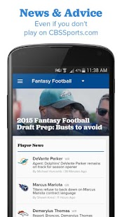 CBS Sports Fantasy- screenshot thumbnail