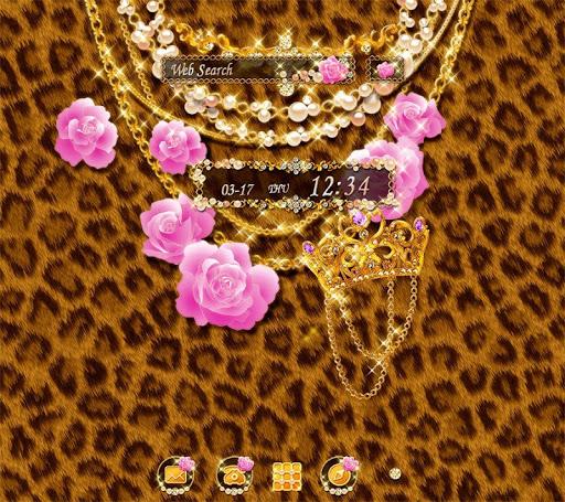 背景圖片/icon 奢華豹紋