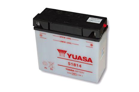 YUASA MC-batteri 51814 (BMW) utan syrapack